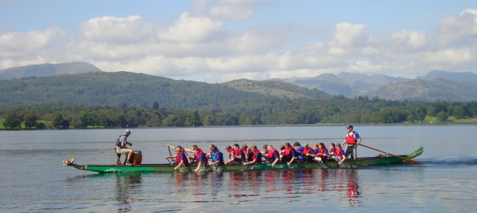 Dragon Boating in the Lake District